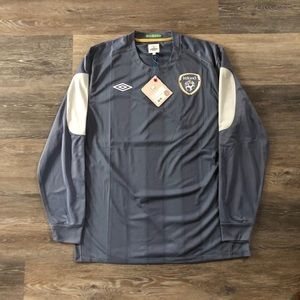 Throwback Umbro Ireland GK Jersey With Tags